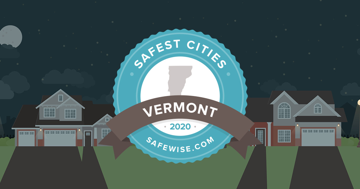 2020 Safewise Safest Cities - VT